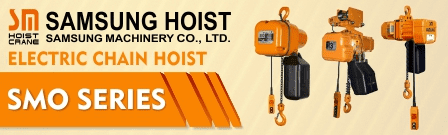 PRODUK JUAL CHAIN HOIST SINGLE PHASE SAMSUNG