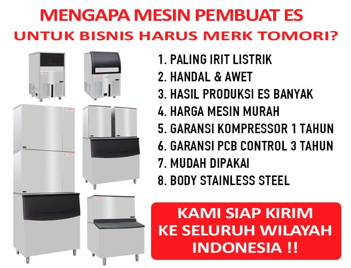 Promo Ice Maker Tomori