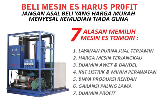Promo Industrial Tube Ice Machine