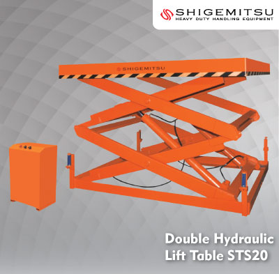 Double Hydraulic Lift Table ST02