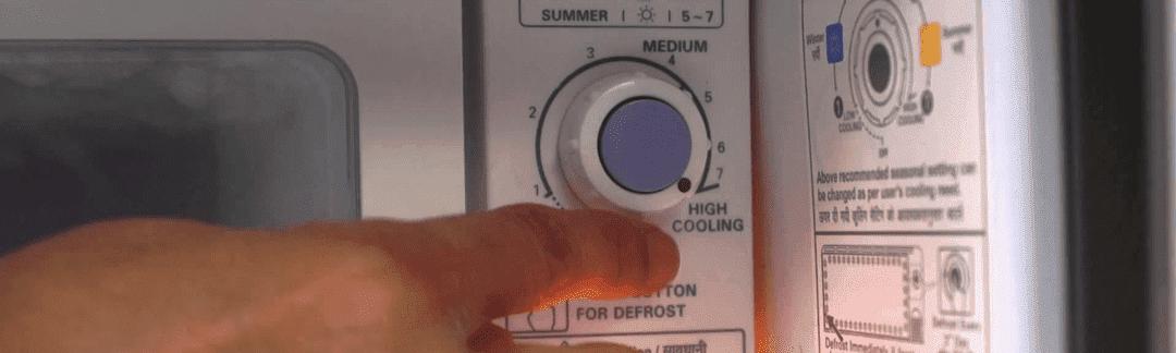 suhu normal untuk freezer