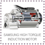 Samsung Hoist High Torque Electric Motor