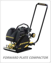 Side Content Masterpac Forward Plate Compactor