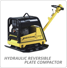 Side Content Masterpac Hydraulic Reversible Plate Compactor