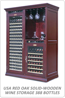 Tomori Solid-Wooden Wine Storage