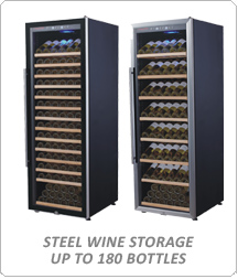 Tomori Steel Wine Storage