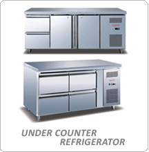 Tomori Under Counter Freezer