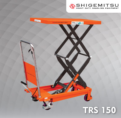 Jual Double Scissors Lift Table Specs TRS150