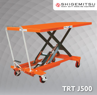 Jual Double Scissors Lift Table Specs TRTJ500
