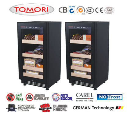 Tomori Cigar Humidor CX-80CF1