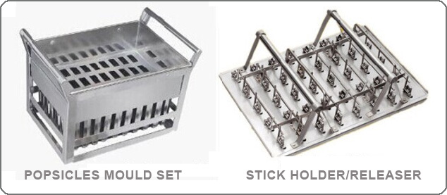Tomori Lolly Ice Machine Moulds Set