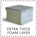 Tomori Medical Refrigerating Extra Thick Foam Layer Feature
