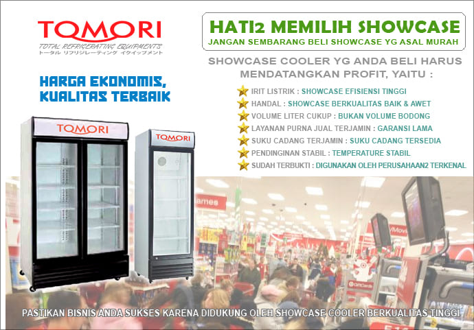 Tomori promo showcase cooler