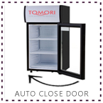 Tomori Showcase Cooler auto close door