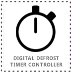 Tomori Showcase Cooler Digital Timer Defrost