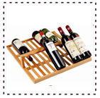 Tomori Wine Storage Display Shelf
