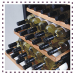 Tomori Wine Storage Movable Shelves