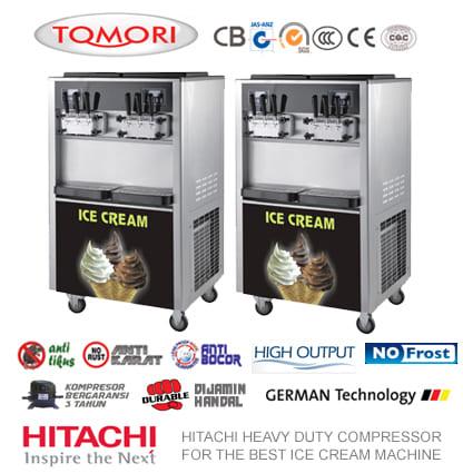 Mesin Es Krim Tomori Ice Cream Machine