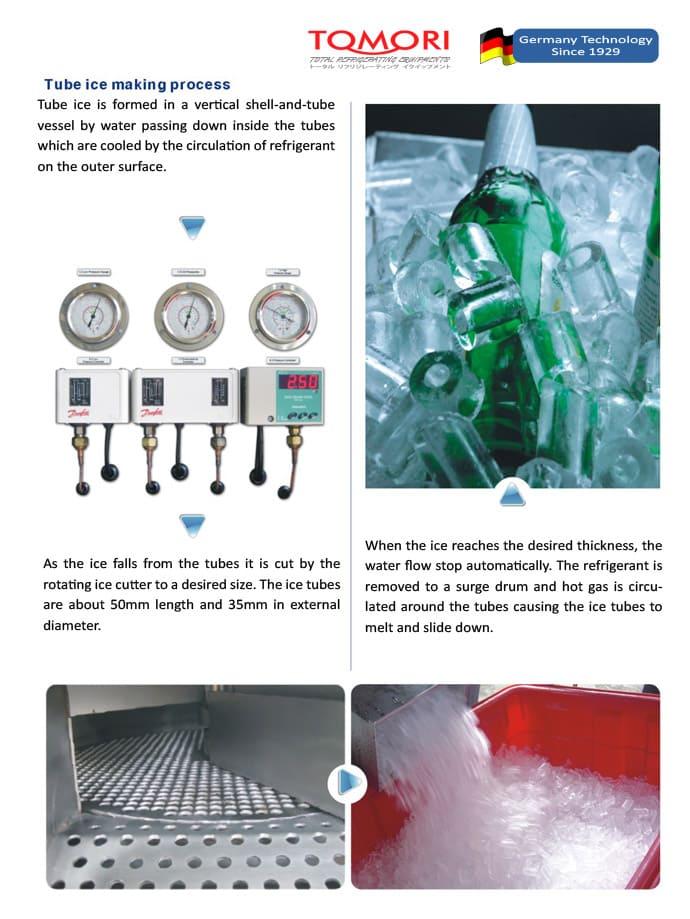 Tomori Ice Maker Mesin Es Batu Mesin Ice Flake Mesin