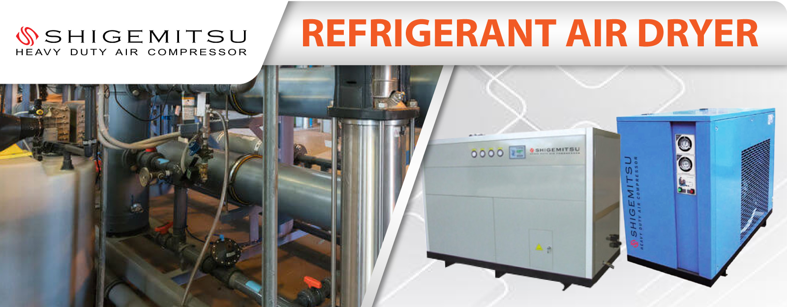 Banner REFRIGERANT AIR DRYER