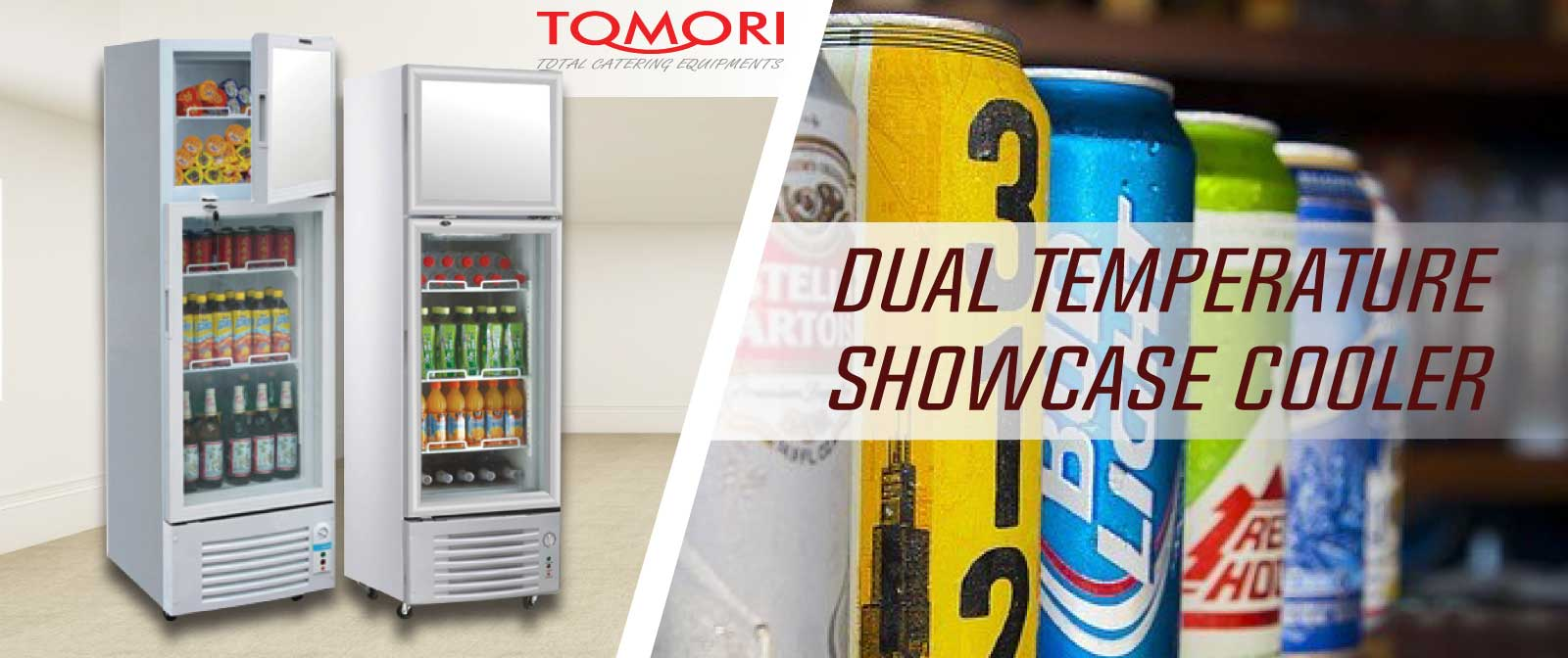 dual temperature showcase cooler indotara persada