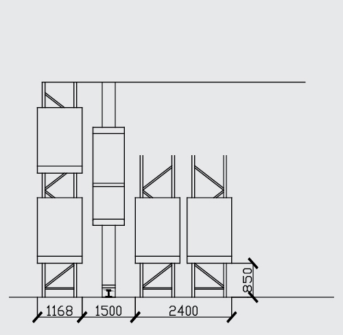 jual AS/RS Pallet Racking Systems