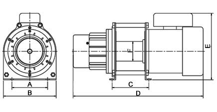 4 Wheeler Winch Wiring Diagram Schematic