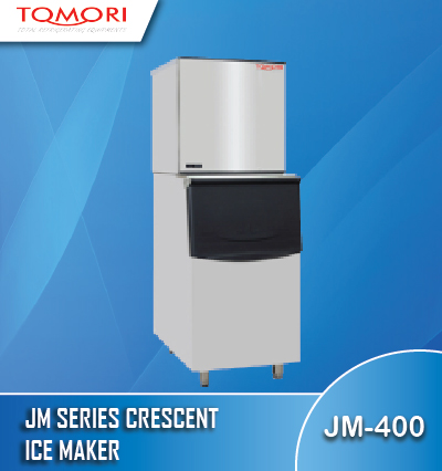 Banner Tomori JM Series crescent ice maker