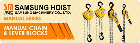 Manual Chain & Lever Blocks