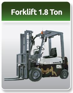 Bomac Forklift Military 1.8 Ton