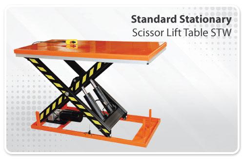 Standard Stationary Scissor Lift Table STW
