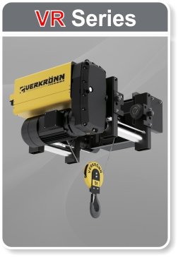 VR Series Wire Rope Electric Hoists