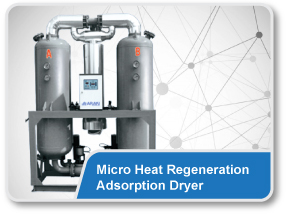 Micro Heat Regeneration Adsorption Dryer