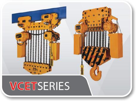 VCET Series Capacity 1ton-50ton