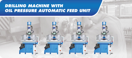 Drilling Machine With Oil Pressure Automatic And Unit