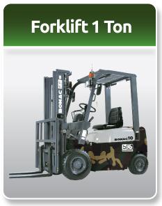 Bomac Forklift Military 1Ton