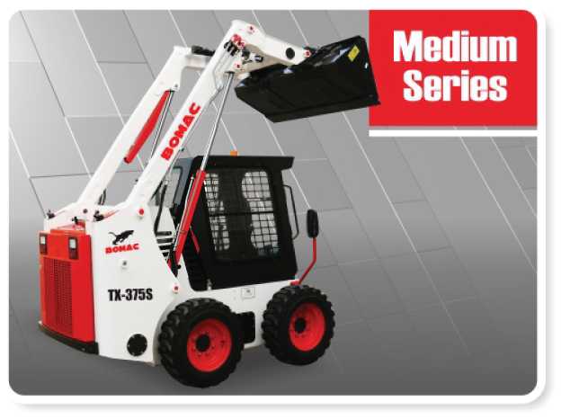 Medium Sized Skid Steer Loader Series