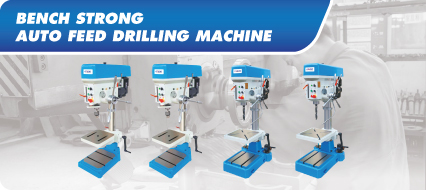 Bench Strong Auto Feed Drilling Machine