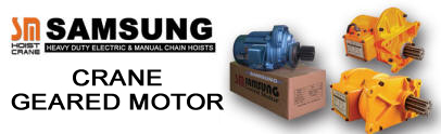 SAMSUNG Crane Geared Motor