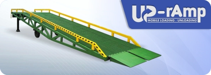 UP-Ramp Mobile Loading Dock & Unloading Dock