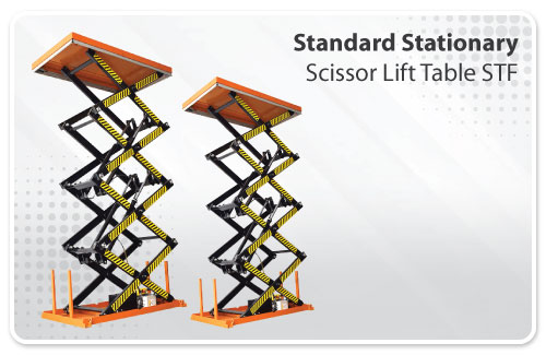 Standard Stationary Scissor Lift Table STF