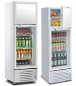 Dual Temperature Showcase Cooler