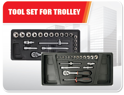 Tool Set For Trolley