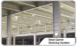Steel Garret Shelving System