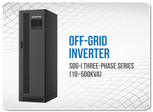 Off-grid Inverter Three Phase Series