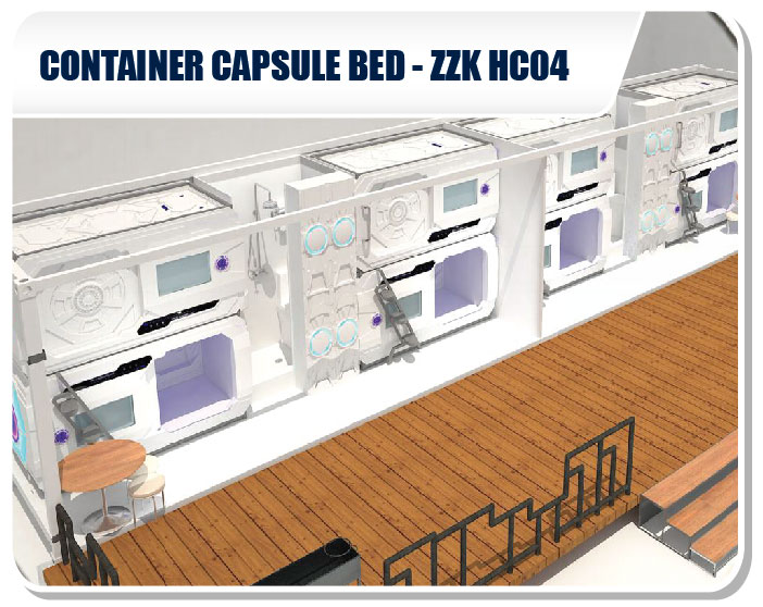 Container Capsule Bed SSK-HC04