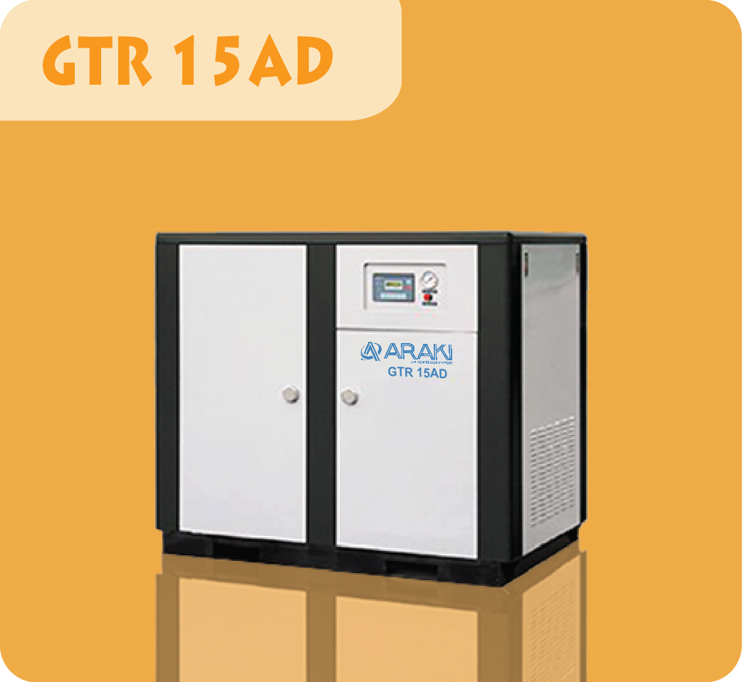 Araki Screw Compressor GTR-15AD