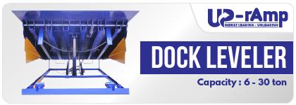 Up-Ramp Hydraulic Dock Leveler