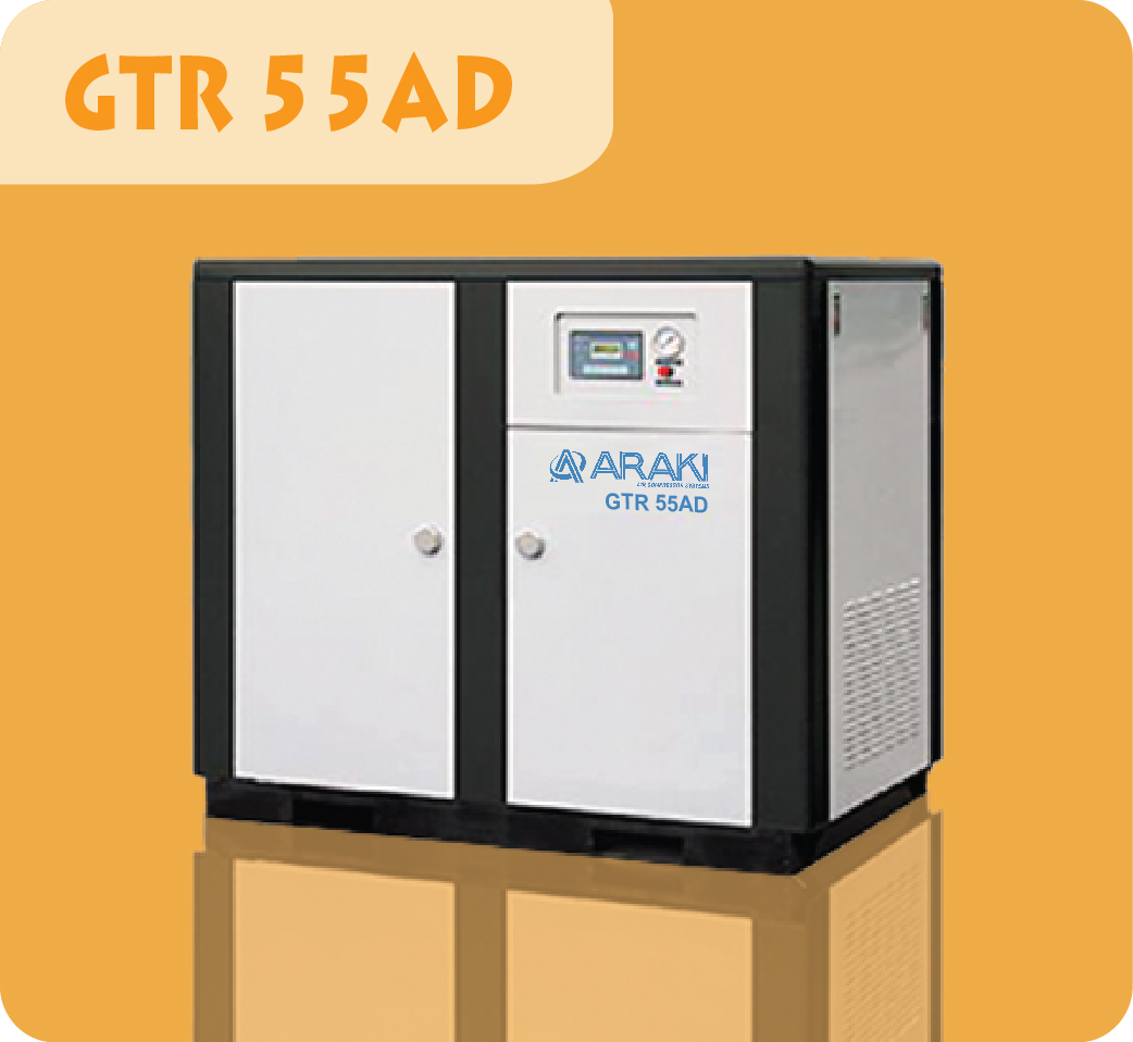 Araki Screw Compressor GTR-55AD