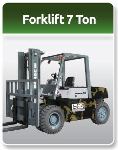Bomac Forklift Military 7 Ton